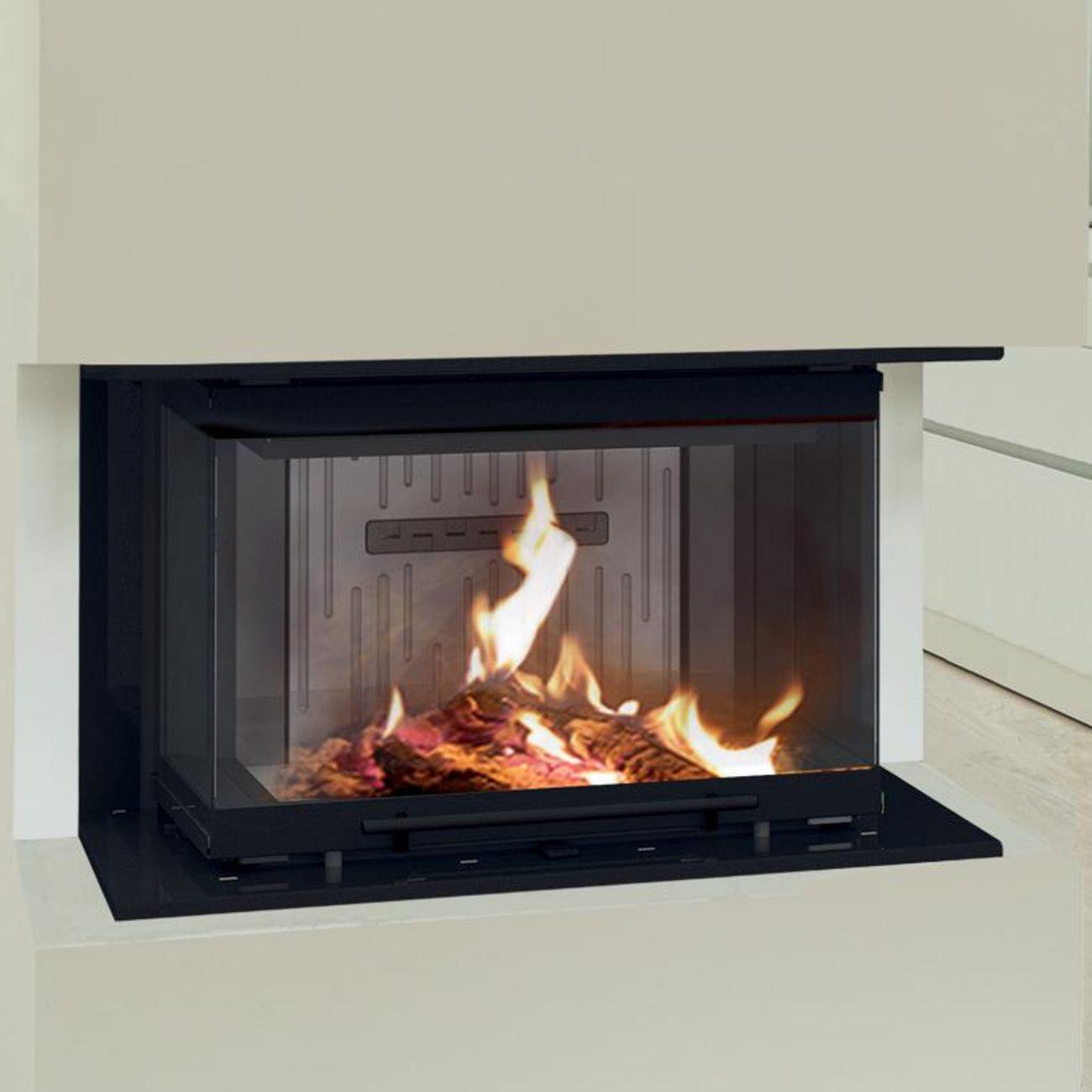 bef trend v 6 c warmluft kamineinsatz dreiseitig verglast hebet r 6kw kamin pinterest. Black Bedroom Furniture Sets. Home Design Ideas