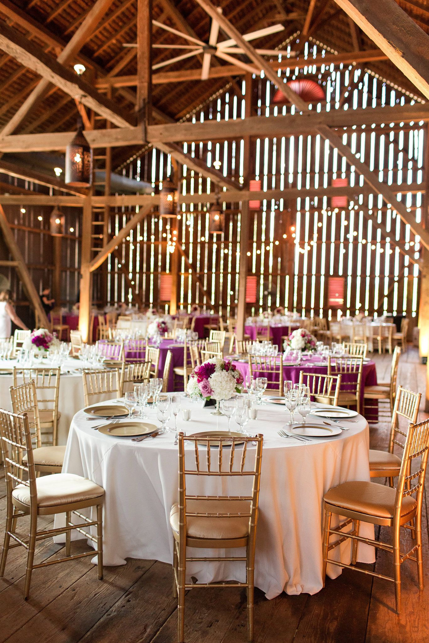 Barn Wedding Reception Rustic DC Venue Outdoor Country Inspired Black Tie