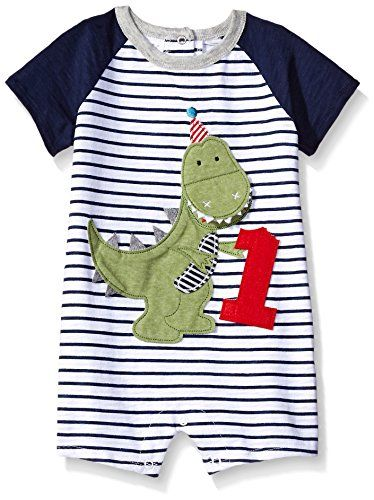 Mudpie Baby Clothes Fascinating Mud Pie Boys' Shortall One Piece Dinosaur 6060 Months Baby