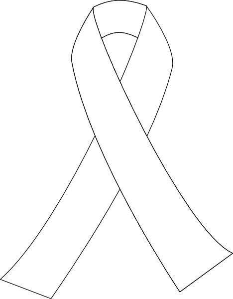 Printable Breast Cancer Ribbon Coloring Pages