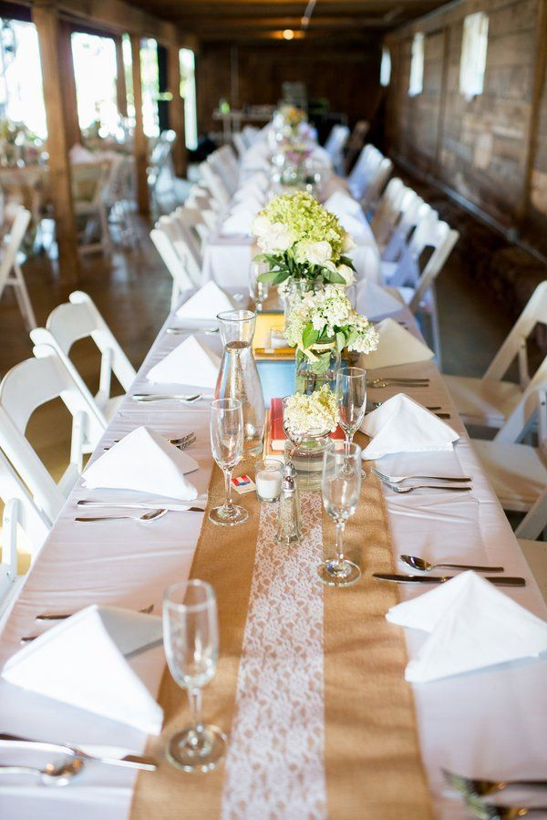 Southern Style Barn Wedding Rustic Wedding Decorations Country