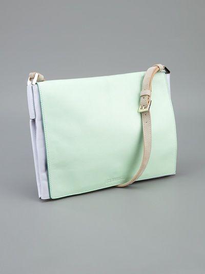 Jil Sander - colour block shoulder bag 3
