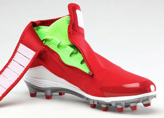 f05712419 Air Jordan XX8 Inspired Cleats for Michael Crabtree