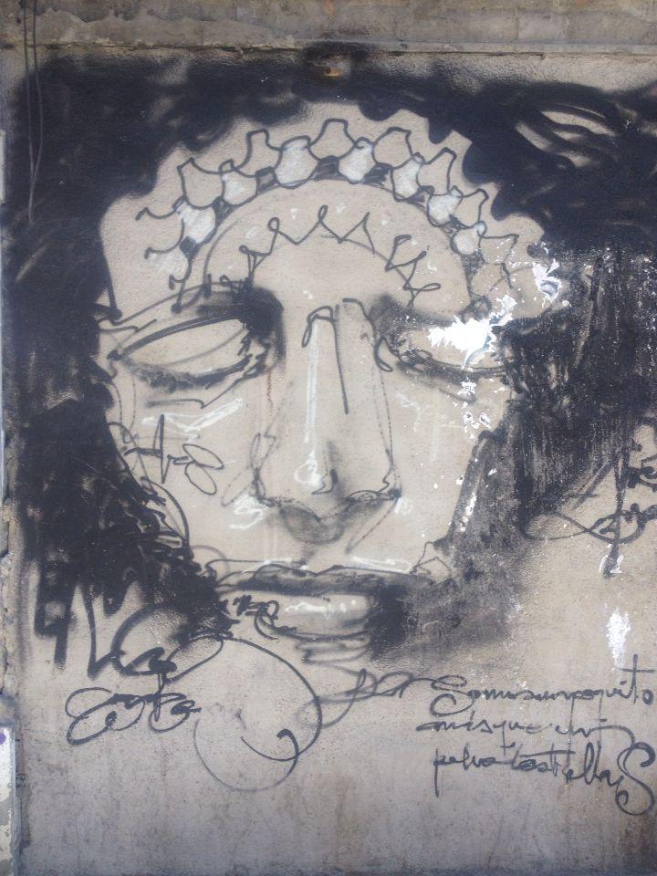 Emotional #Art #faces #graffiti