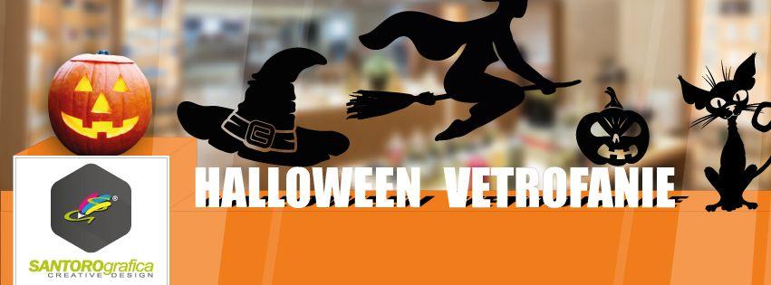 vetrofanie - halloween - santorografica realizzate in vinile prespaziato o stampa digitale http://www.santorografica.com/shop/336-halloween  #halloween #vetrofanie #vinile #prespaziato #stampa #digitale #santorografica #solodasantorografica