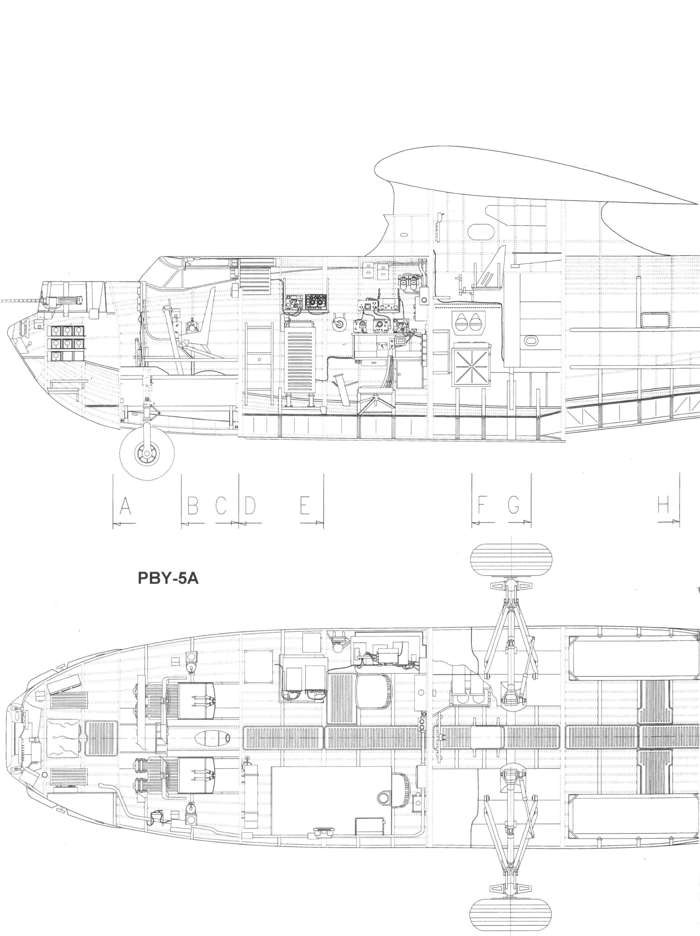 Consolidated pby catalina blueprint pbys pinterest aircraft consolidated pby catalina blueprint malvernweather Choice Image