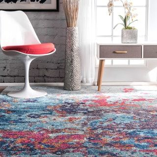 Shop for nuLOOM Contemporary Abstract Painting Multi Rug (8' x 10'). Get free shipping at Overstock.com - Your Online Home Decor Outlet Store! Get 5% in rewards with Club O!