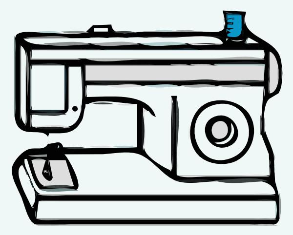 Sewing Machine Clip Art at Clker.com - vector clip art online, royalty ...