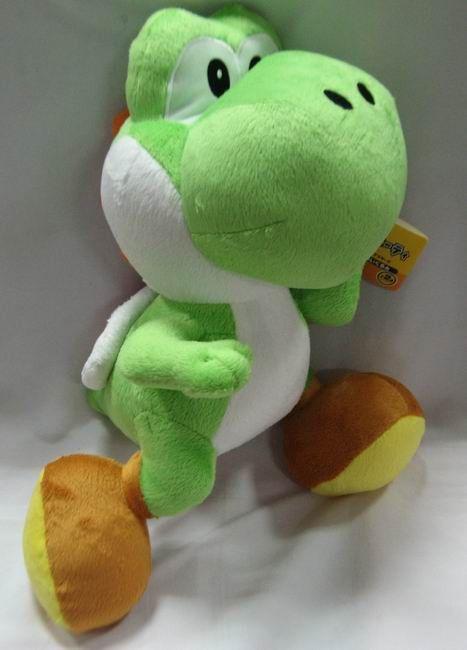 Super Mario Bros Green Running Yoshi Plush Doll MLPL3473