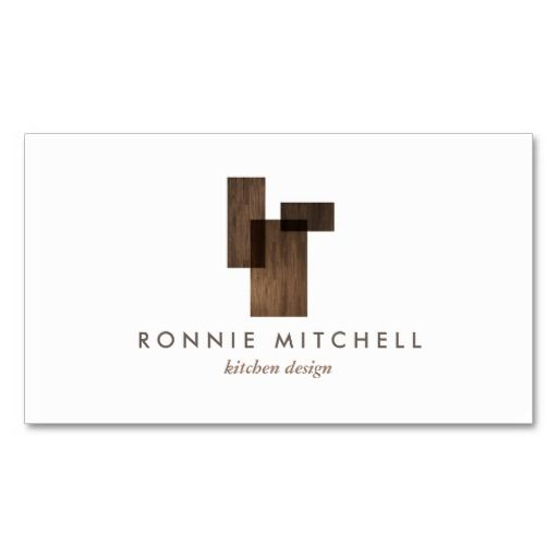 Mid-Century Modern Architectural Logo and Customizable Business ...