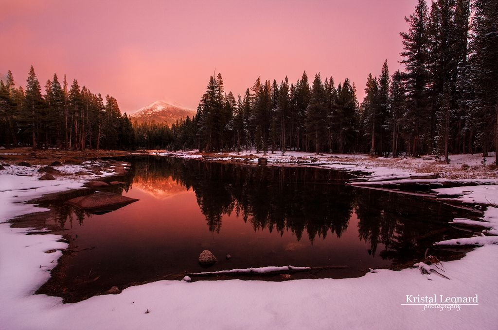 Red Twilight, Yosemite High Country - Flickr - Photo Sharing!
