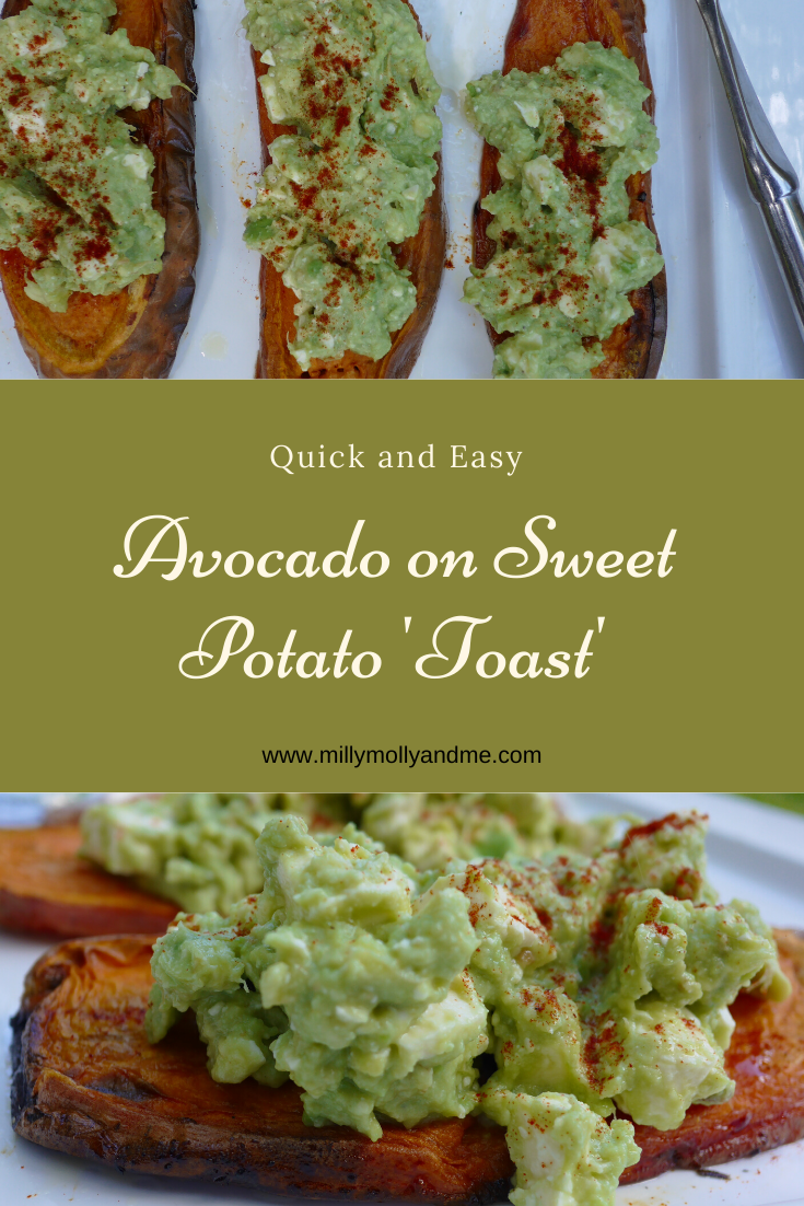 Avocado on Sweet Potato 'Toast' Need a lighter option amid the feasting this Christmas? Try Avocado