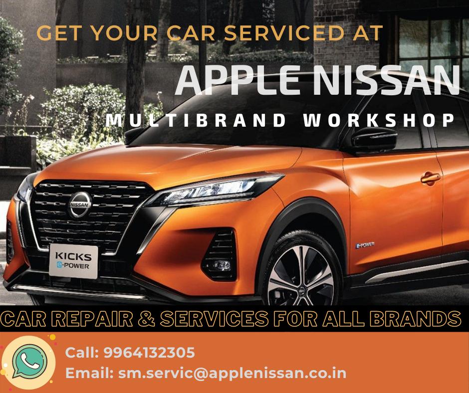 Apple Nissan Multi Brand Workshop Nissan Car Care Power Cars