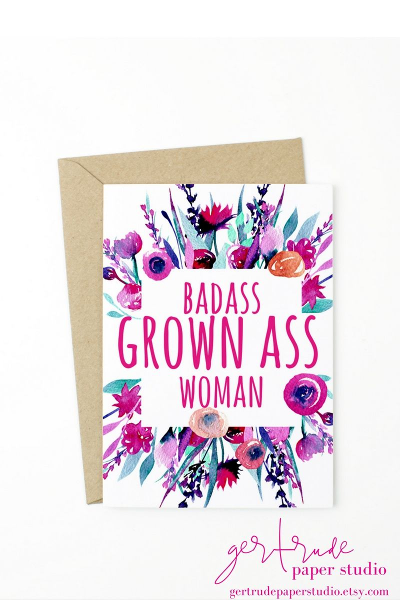 Feminist Gift Funny Birthday Card 30th Birthday Gift For Her
