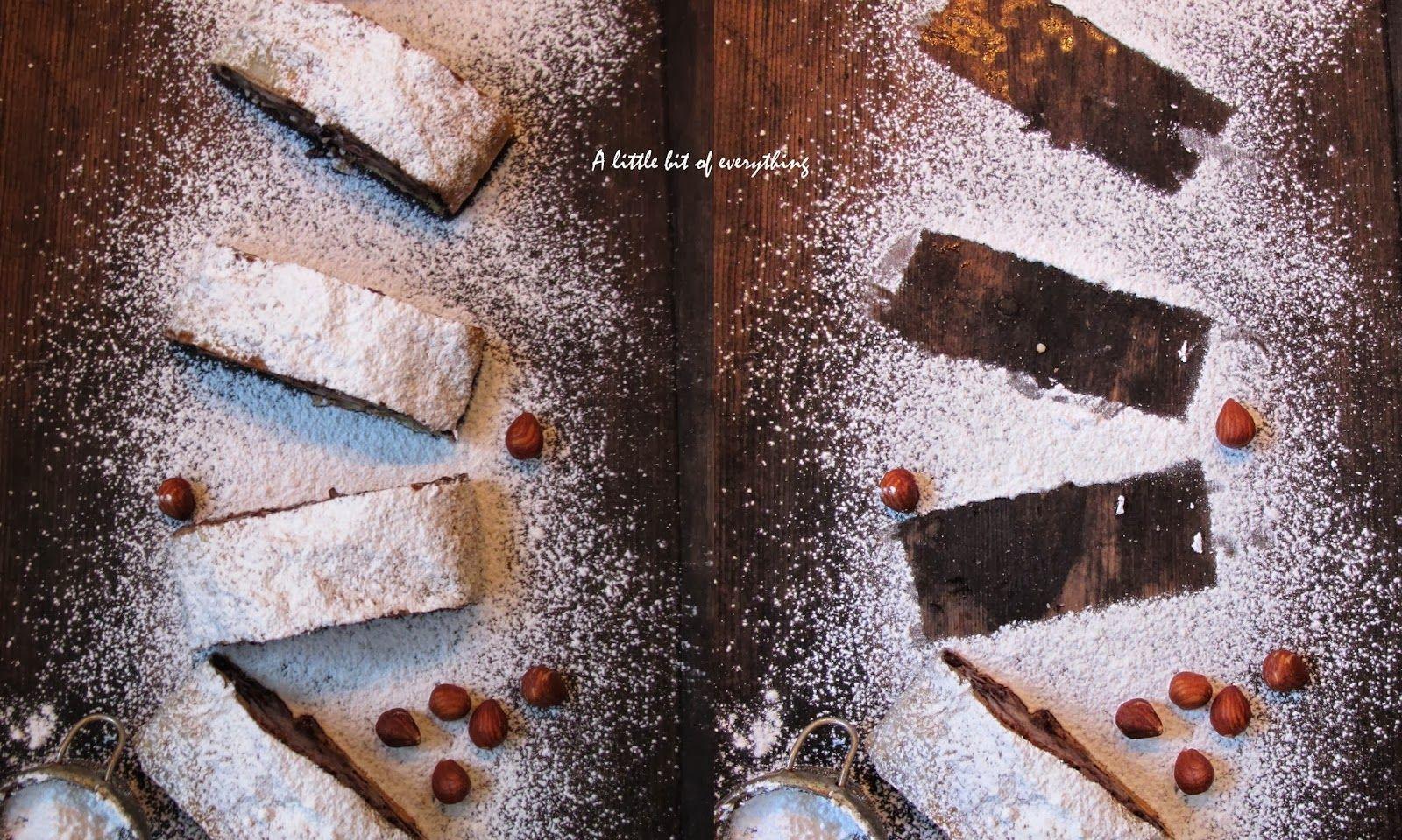 От всичко по малко / A little bit of everything: Щрудел с круши, какао и лешници
