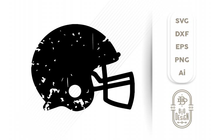 Distressed Football Helmet Svg Football Svg Giftsidea Coolgifts Svgcutfilepngaidxfvecto Svgfileforcricut Vinylcuttingfil In 2020 Football Helmets Svg Distressed