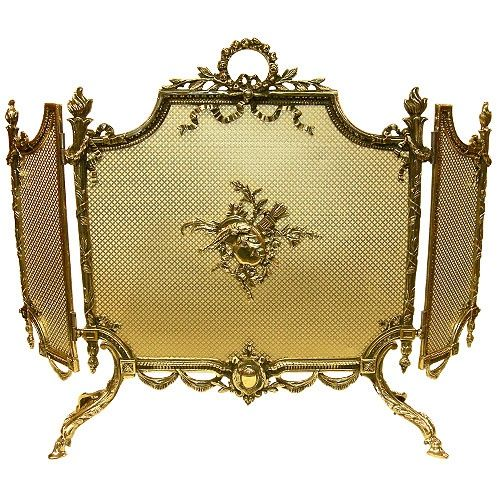 French Fire Screen Antique French Fire Screen C 19th Centuy