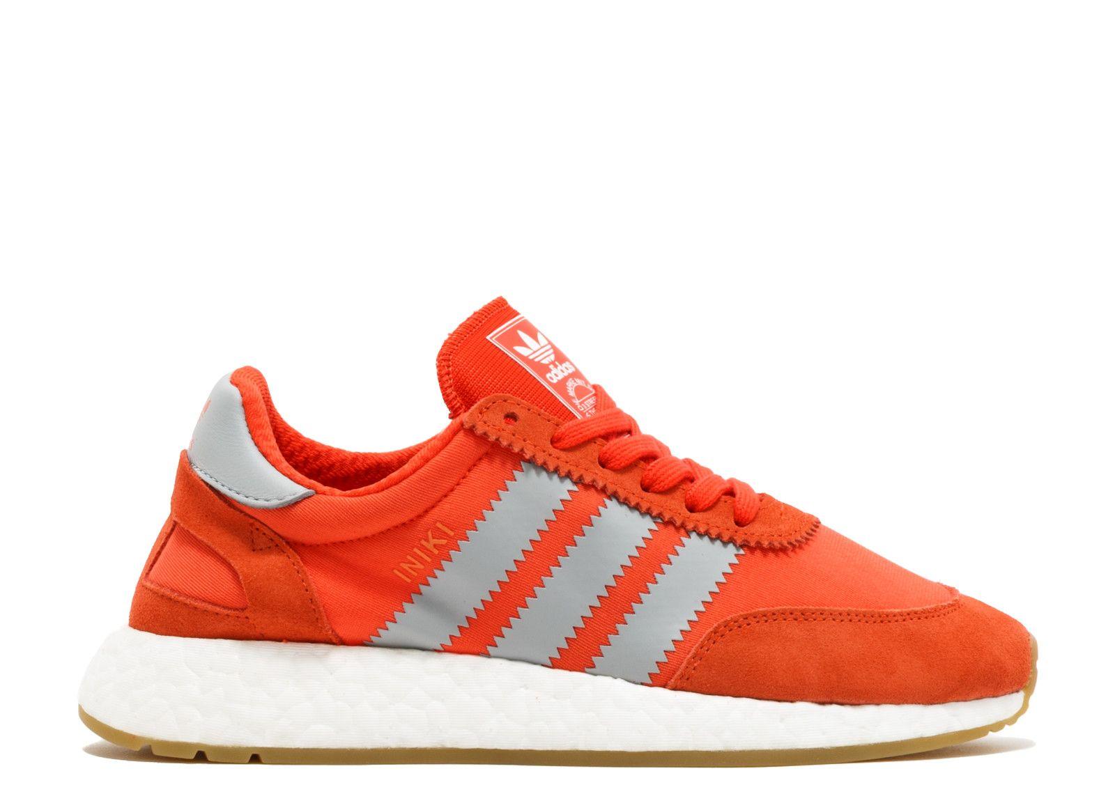 premium selection c7ed0 38494 Adidas Iniki Runner Women Ba9998 Orange White Gum Trainers