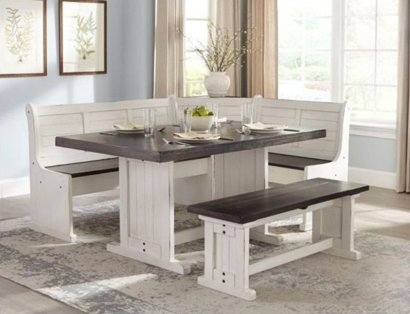 Sunny Designs 0113ec 4pc 4 Pc Carriage House Two Tone Finish Solid