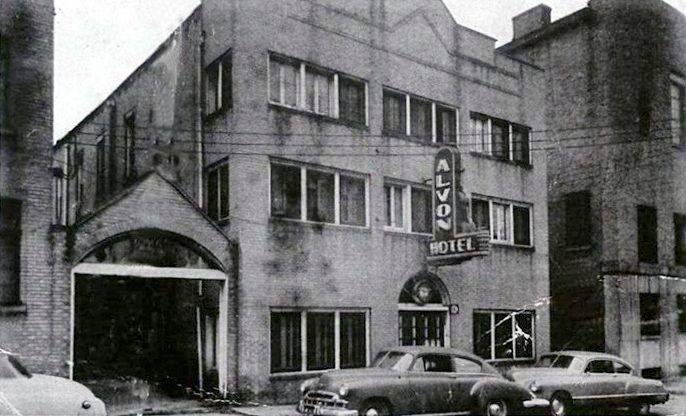 Alvon Hotel Williamson Wv 1950 S