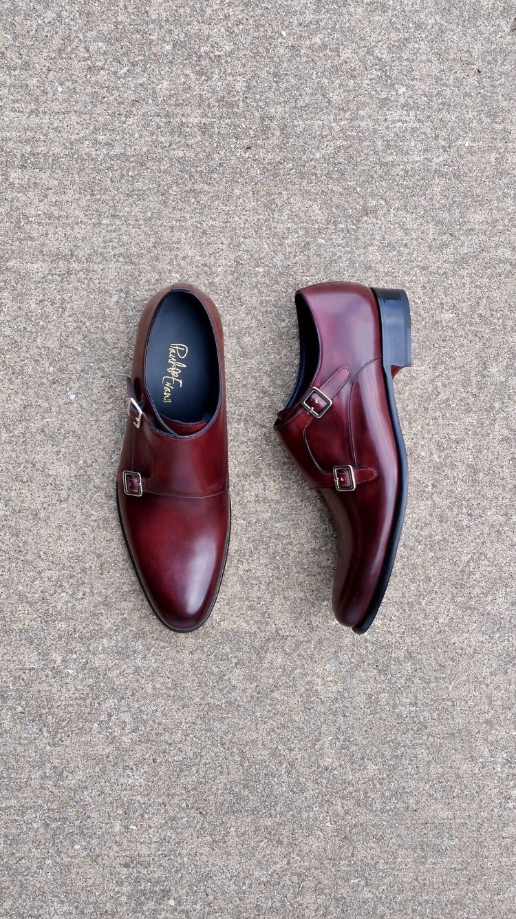 abbf8d508fd53 Paul Evans Double Monks in oxblood #doublemonk #goodyearwelt #paulevansny  #paulevans #footwear #shoes #menswear #mensfashion #menstyle #doublemonks
