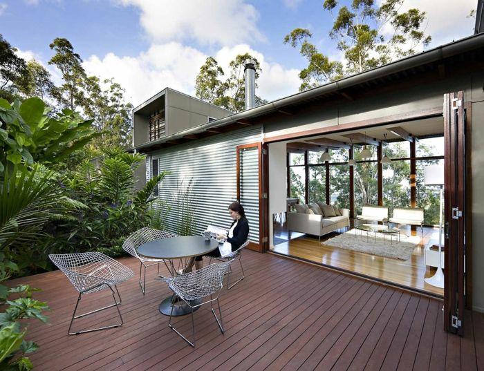 Terrassengestaltung Modern terrassengestaltung die terrasse schicker aussehen lassen