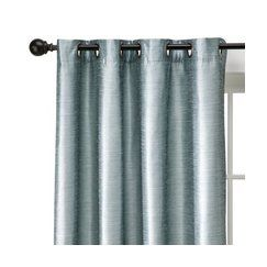 Love The Silvery Sheen Of These Curtains To Go With My Blue