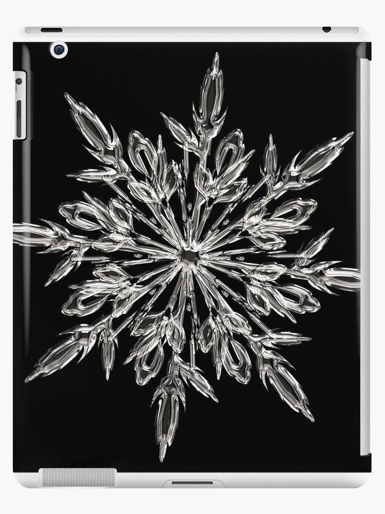 'Beautiful Snowflake' iPad Case/Skin by Alex Dee