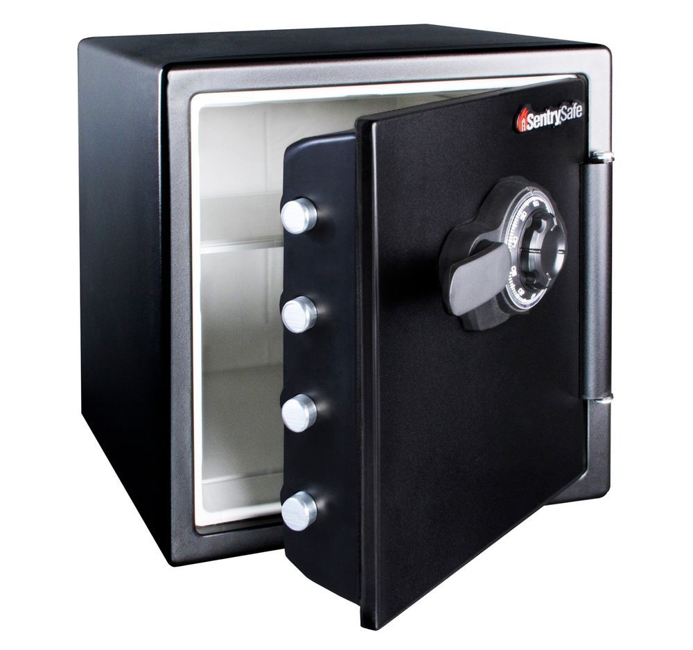 NEW SentrySafe Fireproof and Waterproof Safe with Dial