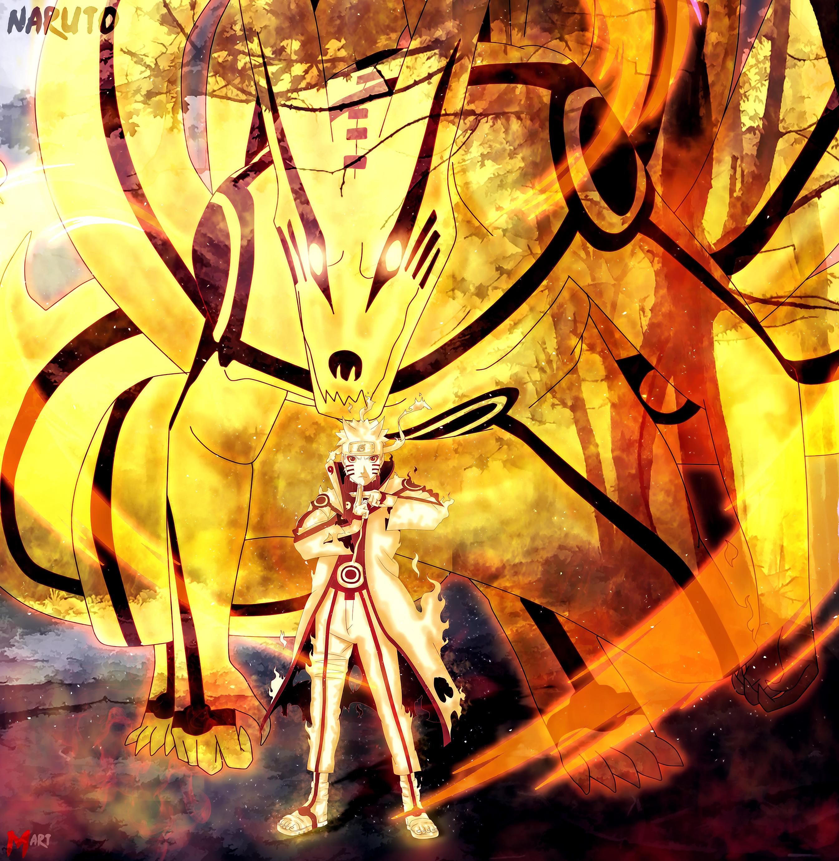 Naruto Wallpaper Naruto Sage Naruto Kurama