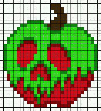 Snow White Pixel Art à Imprimer Dessin Carreau Et