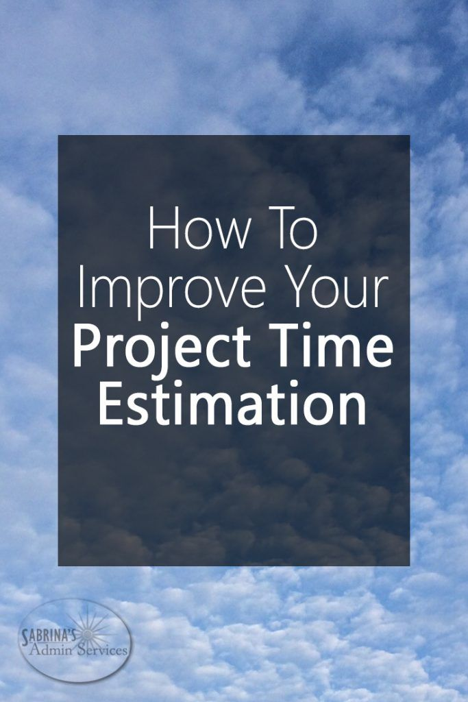 How to Improve Your Project Time Estimation - spreadsheet for project management