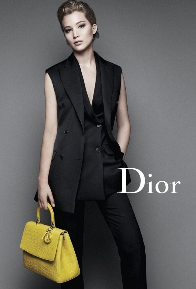 kingofcouture:     Jennifer Lawrence for DIOR par Raf Simons | FW 2014/15