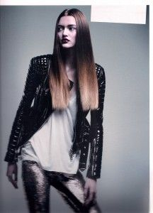 Long Straight Cut Brown Color Hair Style Best Hair Styles of 2012 Photo