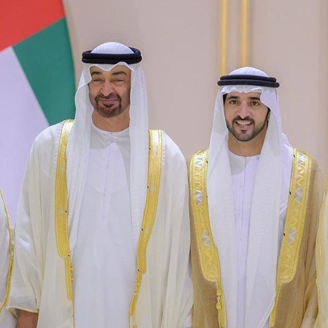 Mohammed Bin Zayed Bin Sultan Al Nahyan Y Hamdan Bin Mohammed Bin Rashid Al Maktoum Boda De Hamdan Mrm Y Shaikha Stm 06 06 Handsome Mohammed Sheikh Mohammed