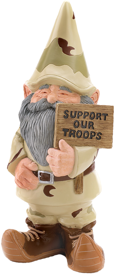Gifts Decor Support Our Troops Gnome Patriotic USA Garden Outdoor Statue  Garden Lawn Supply Maintenance ** Check Out The Image By Visiting The Link.