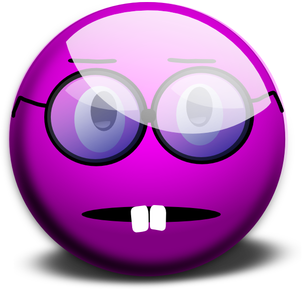 Purple Emoticon Clip Art Glassy Smiley Emoticon clip art