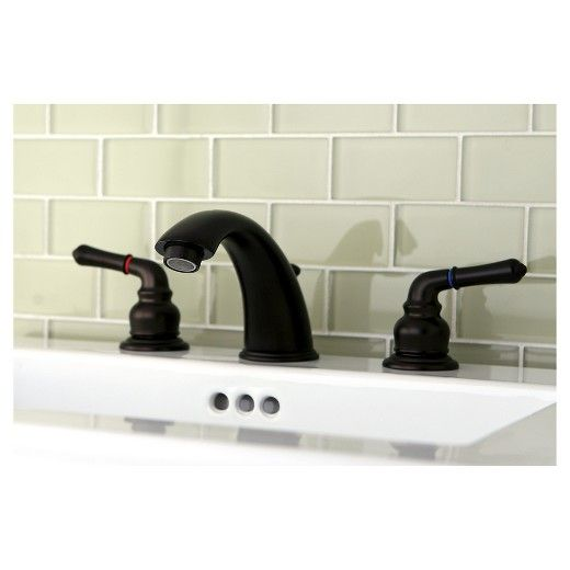 Widespead Oil Rubbed Bronze Bathroom Faucet | Oil rubbed bronze ...
