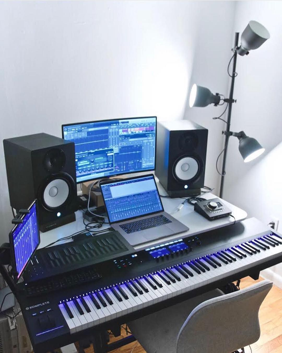 Musicianlifeofficial 54277384 2362019397361548 9057166471153386672 N Musicianlifeofficial Dev Home Recording Studio Setup Music Studio Room Home Studio Setup