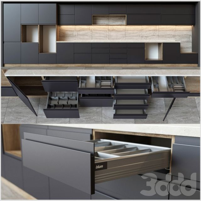 Kitchen units with accessories Blum | Kuxni | Pinterest