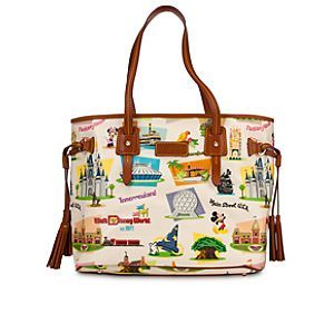 Walt Disney World Davis Tassel Bag by Dooney & Bourke - Retro.  This would be awesome w/ black leather accents rather than brown.