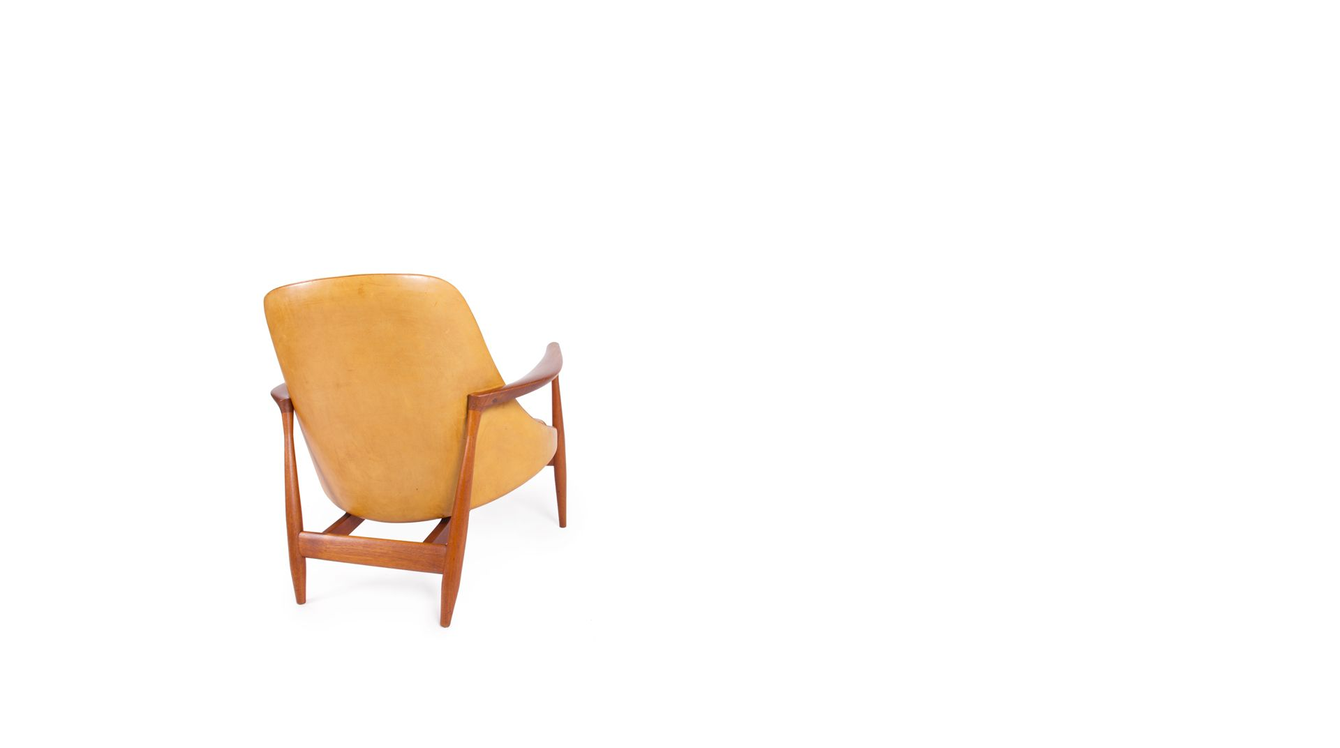 Ib Kofod Larsen // Christensen & Larsen // Elizabeth chair with ottoman