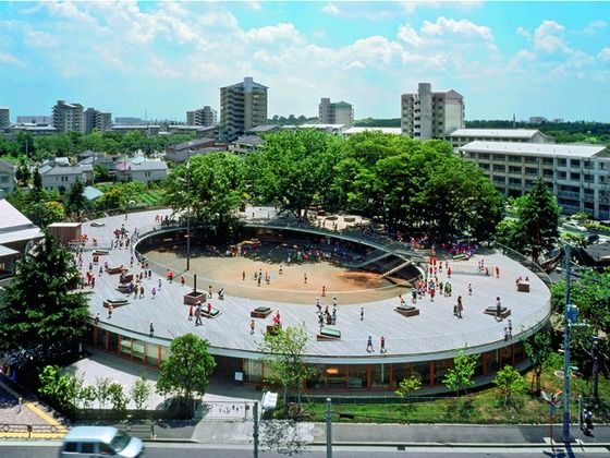 montessori school fuji kindergarten -tezuka architecs   japan