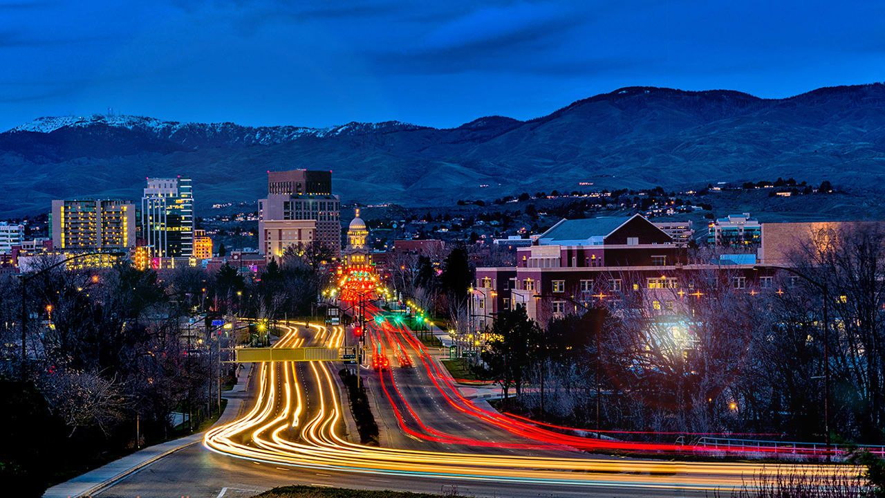 The Next Top 10 Cities For Tech Jobs Light trail