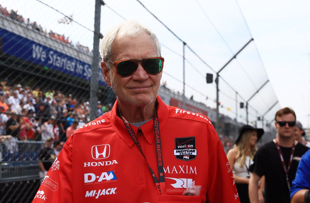 53101ee6c5 David Letterman has IndyCar title within reach with Graham Rahal