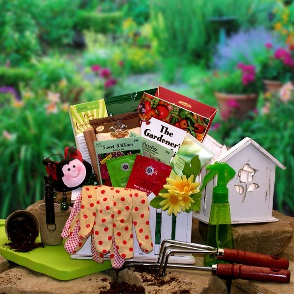 A Gardening Gift for Mom at Gift Baskets Etc