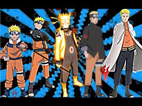 Naruto S Character Evolution Naruto Naruto Shippuden Naruto The