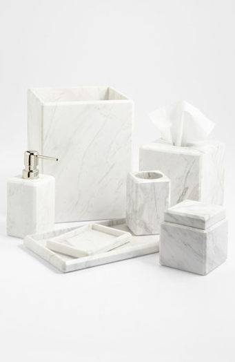 Or for a less costly approach to using marble products look to