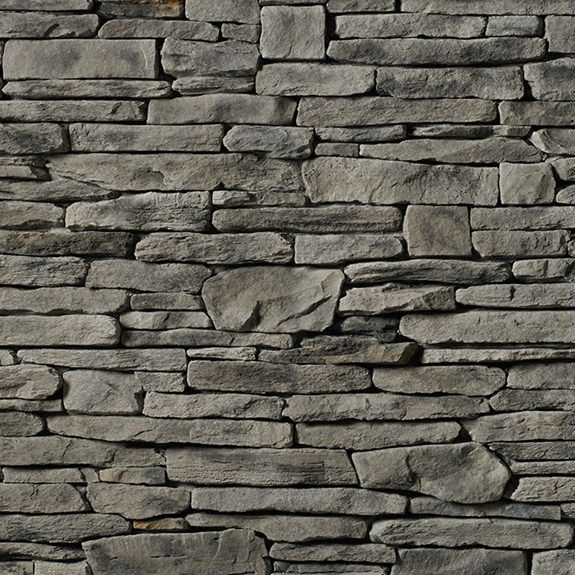 Cs Sl Gray Southern Ledgestone Cultured Stone