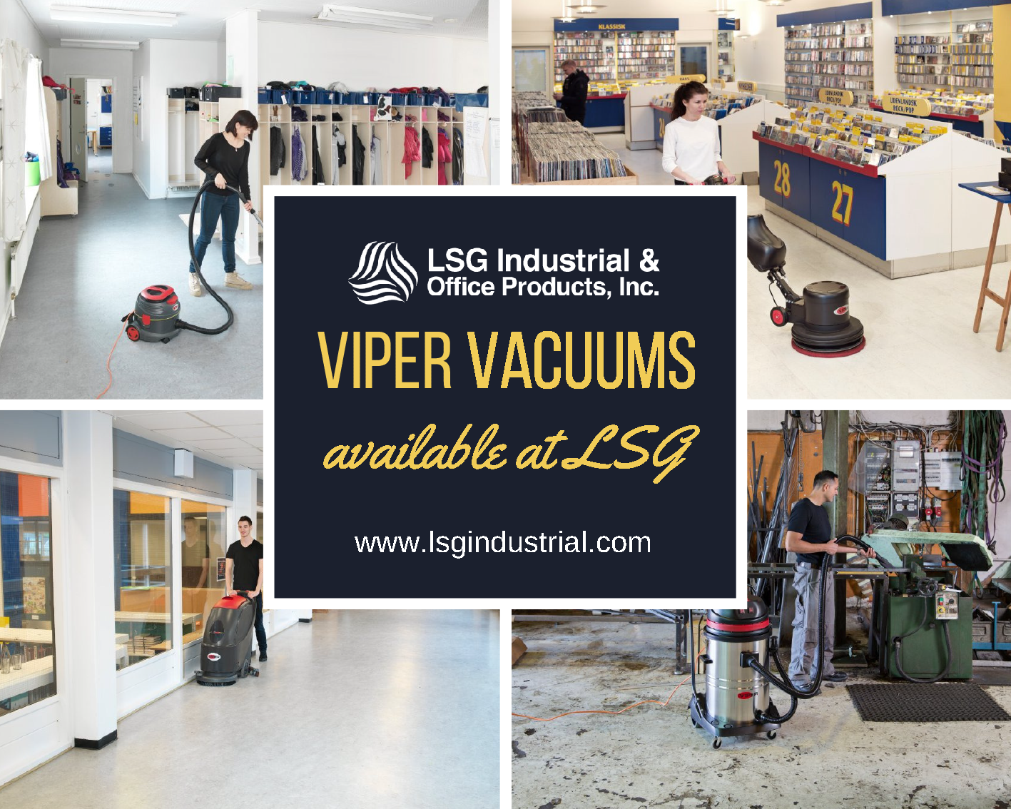 When it comes to commercial vacuum cleaners, scrubbers and